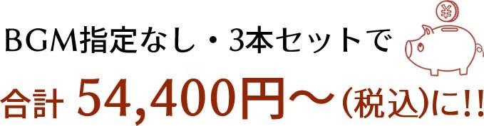 プロフィールムービーが15800円